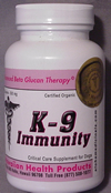 K9 Immunity to help your Dog fight Cancer